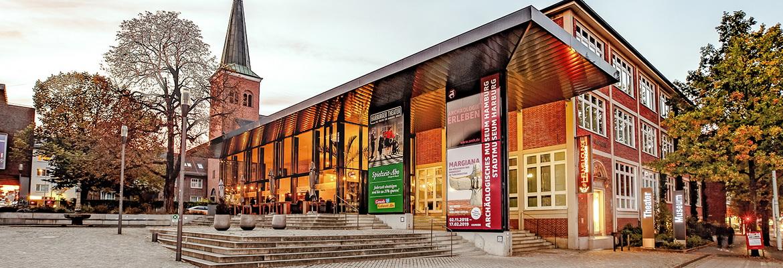 Außenansicht des Archäologischen Museum Hamburg