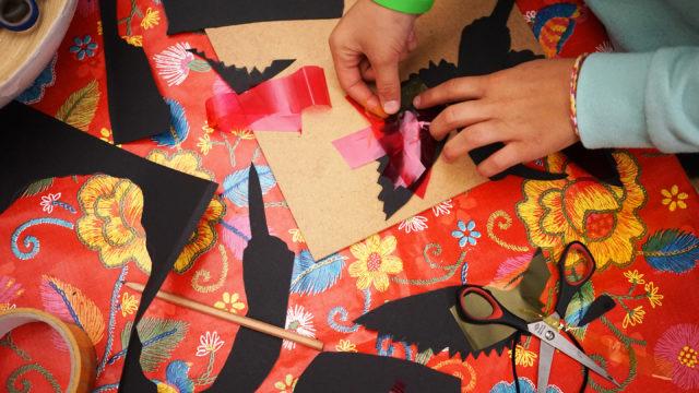 Detailansicht: Schablonen für Schattenrisse basteln