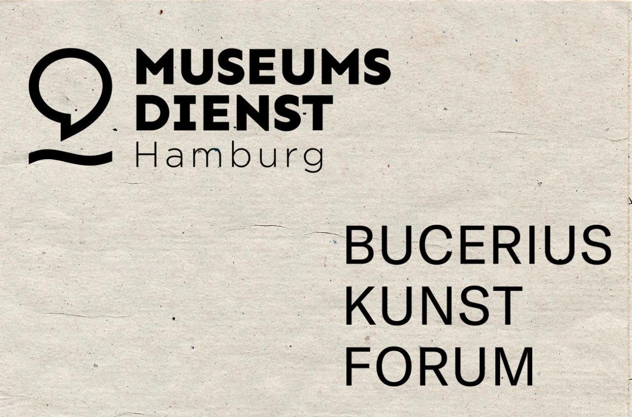 Logos vom Museumsdienst Hamburg und vom Bucerius Kunst Forum Hamburg