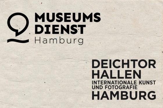 Logo vom Museumsdienst Hamburg, Logo vom Deichtorhallen Hamburg