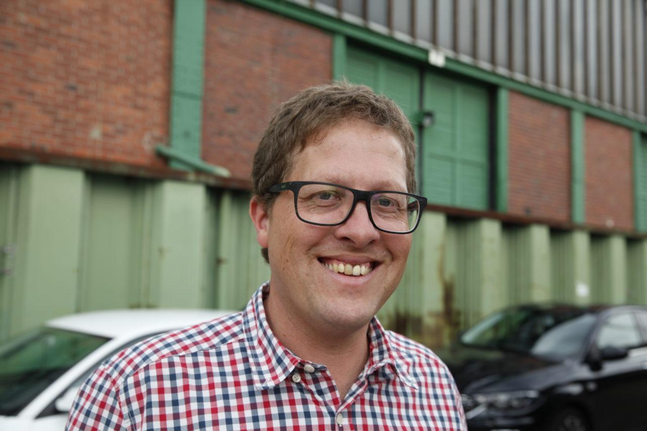 Porträtfoto von Carsten Jordan, Direktor Hafenmuseum Hamburg