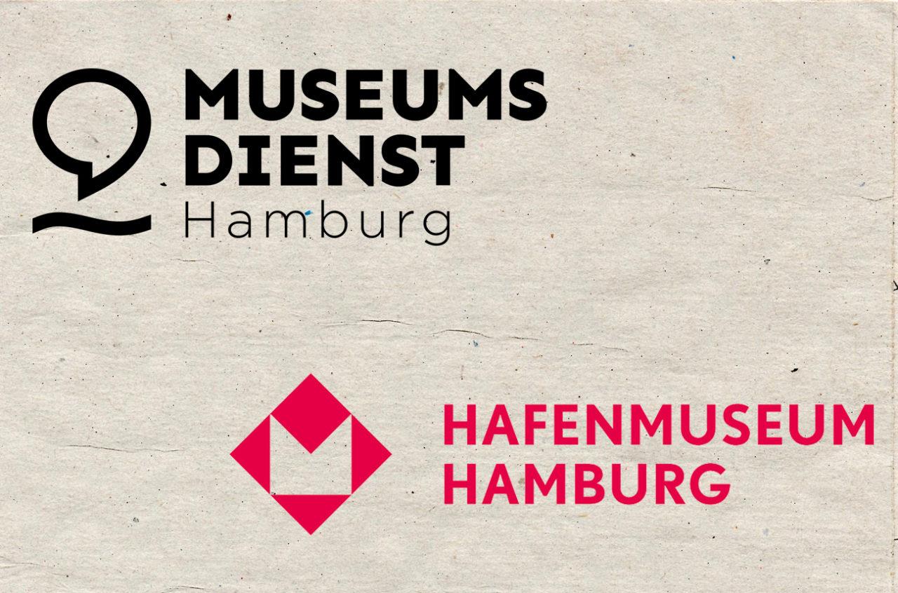 Logo vom Museumsdienst Hamburg, Logo vom Hafenmuseum Hamburg