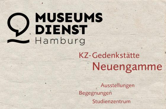 Logos vom Museumsdienst Hamburg und von der KZ-Gedenkstätte Neuengamme