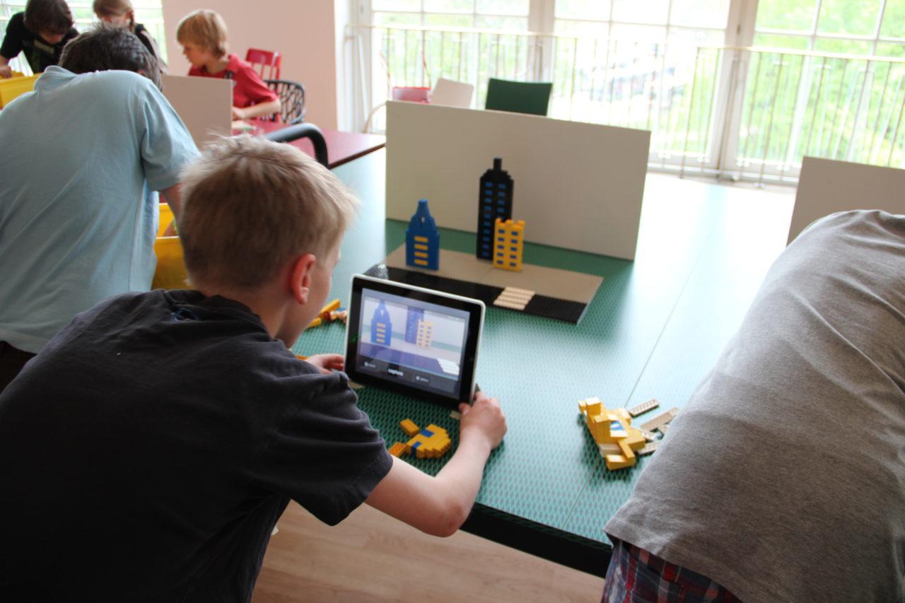 LEGO-Trickfilmer in Aktion
