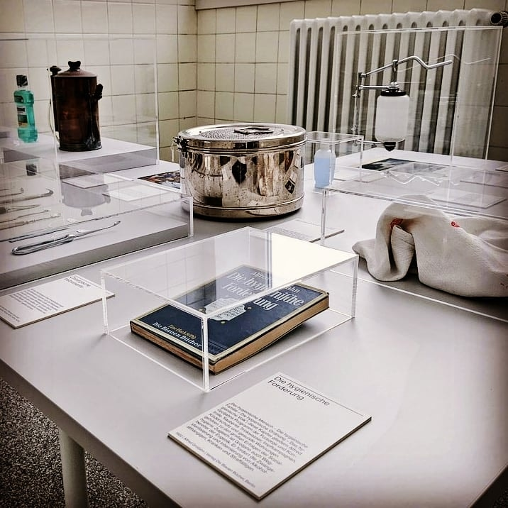 Einblick in die Ausstellung im Medizinhistorischen Museum Hamburg
